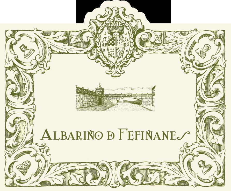 Label of Albariño de Fefiñanes