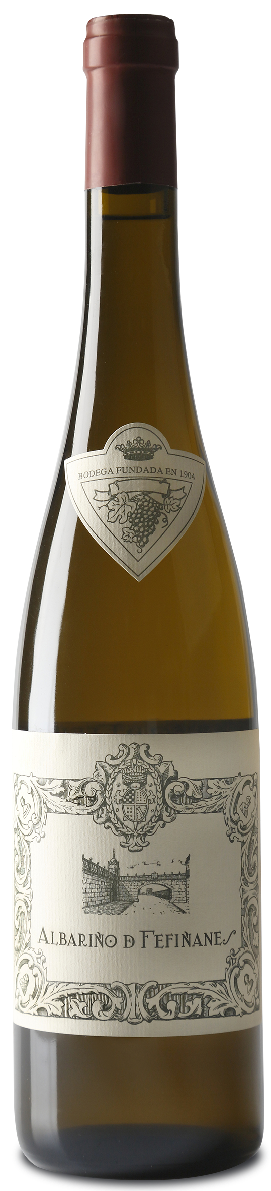 Bottle of Albariño de Fefiñanes